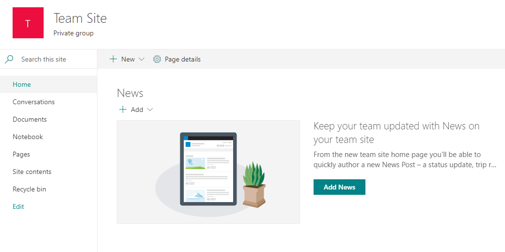 View and Apply Site Design Templates from within SharePoint Online