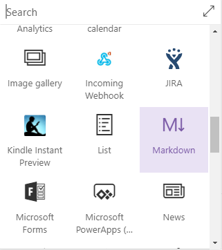 Markdown Web Part - SharePoint Online Microsoft Office 365